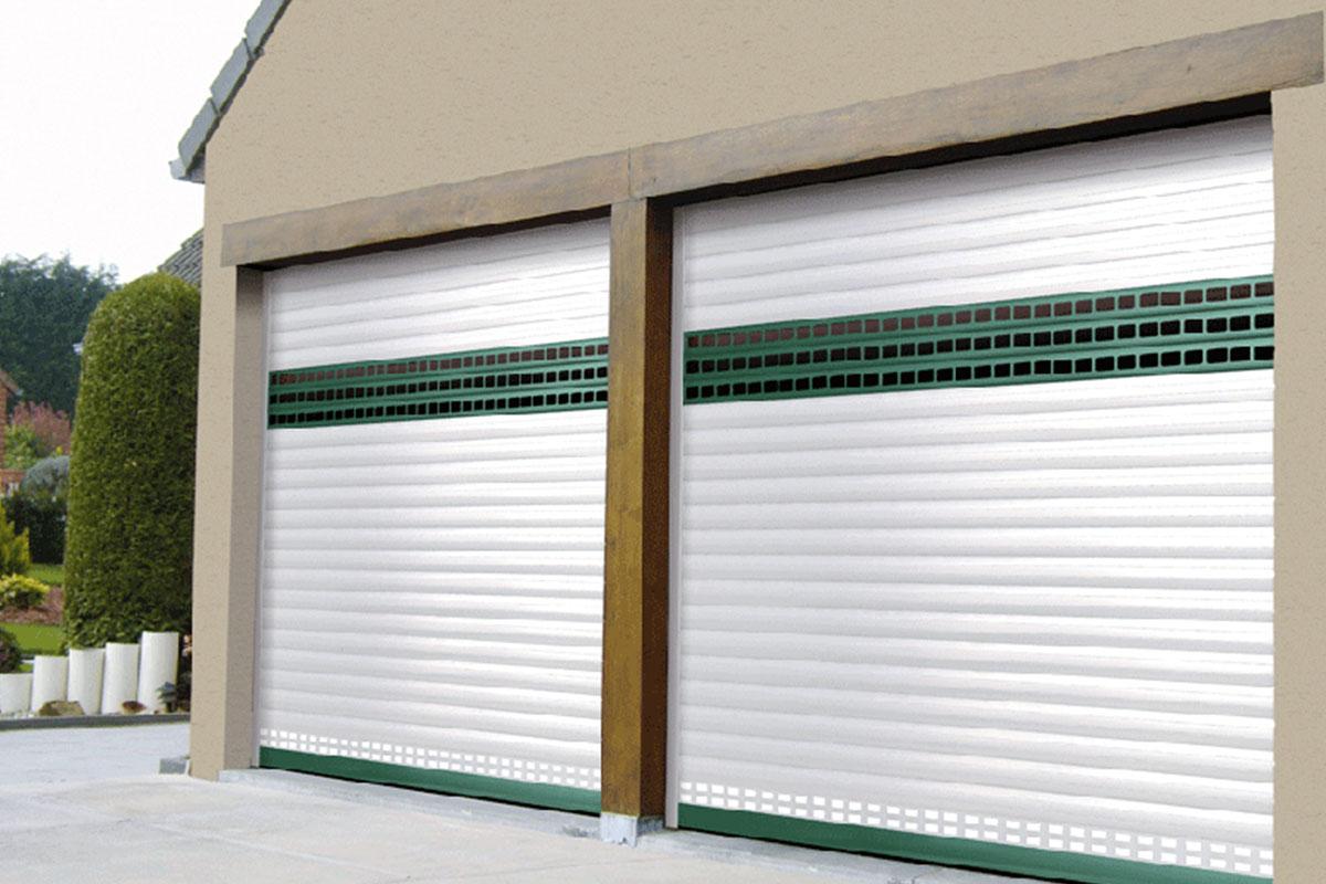volet garage aluminium